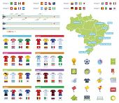 pic of referee  - Soccer championship infographic elements - JPG