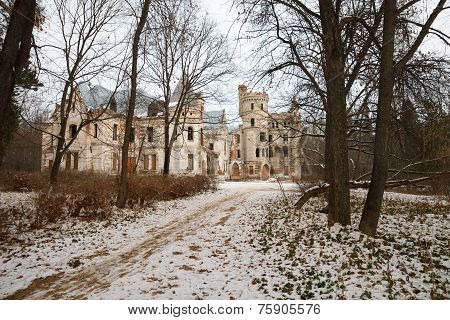 Destroyed Medieval Russia Manor