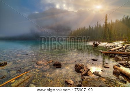 Moraine Lake Inlet