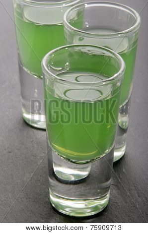 Vodka Drink In A Glass
