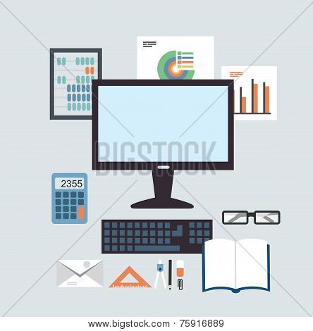 Desktop Accounting illustration