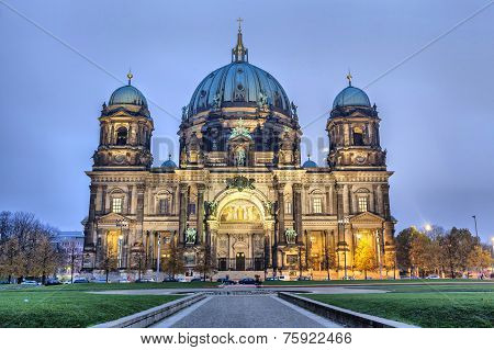 Berlin Cathedral At The Evening, Berlin