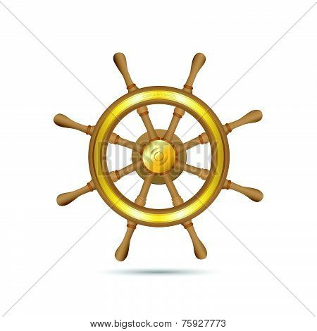 Captain's Wheel Illustration