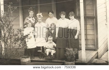 vintage 1912 photo