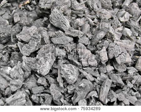 Texture Of The Extinct Embers