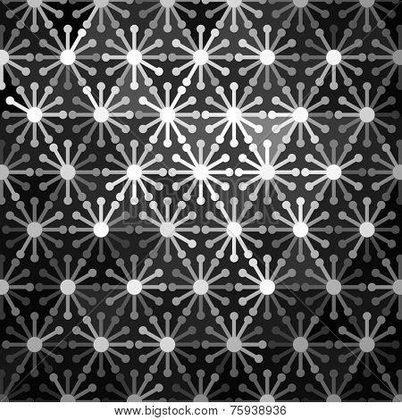 Mosaic Floral Pattern