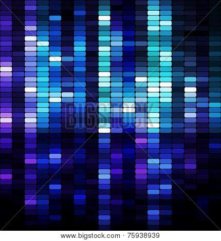 Shiny Mosaic Background