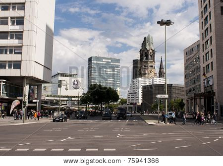 Berlin Traffic And Memorial Church