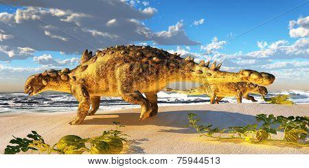 Euoplocephalus Dinosaur