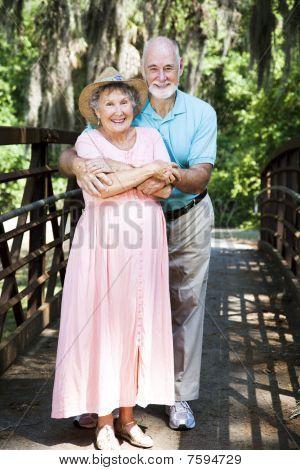 Senior Couple Vacationing