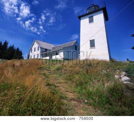 Swans Island Light House