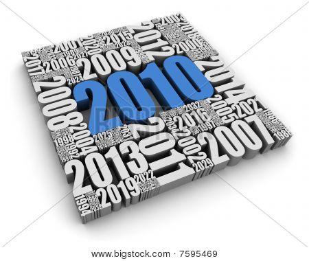 O ano de 2010