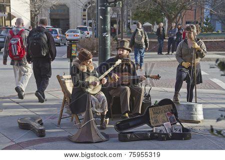 Asheville Street Music