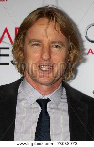 LOS ANGELES - NOV 11:  Owen Wilson at the