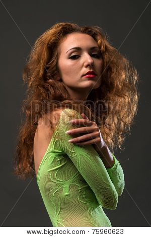 Green Fishnet