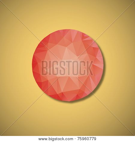 Red Ball Polygon