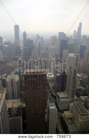 Chicago - On a foggy day