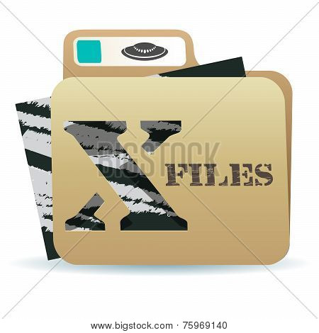 X files folder icon