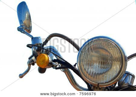 Scooter headlight