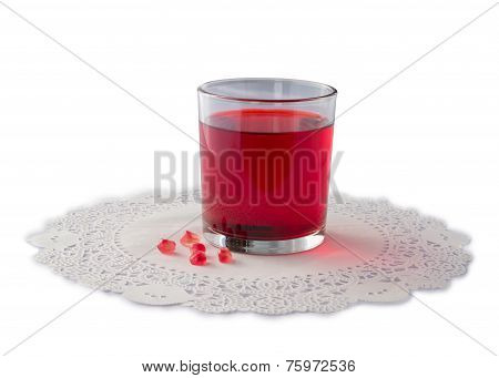 Pomegranate Juice And Seeds