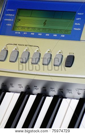 music keyboard details