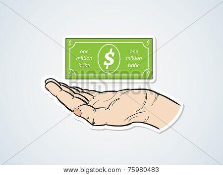 Bribe And Hand