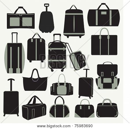 Baggage Theme Icons-illustation