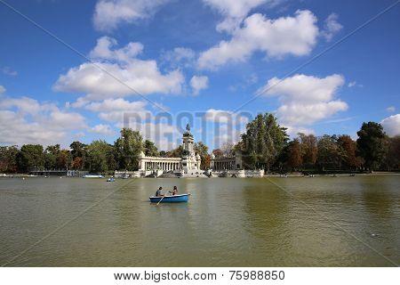 Parque del Buen Retiro. Madrid