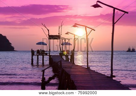 Jetty to Eternity Sundown Serenity