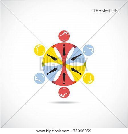Teamwork Sign
