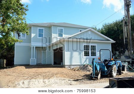 New Home being constructed