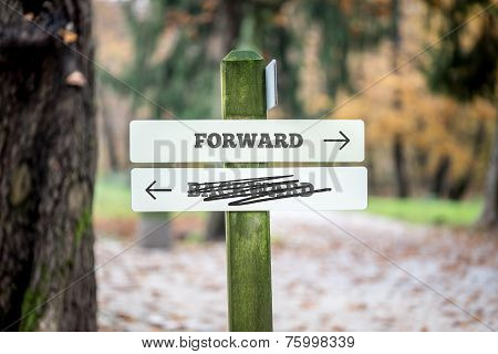 Rural Signboard - Forward - Backward