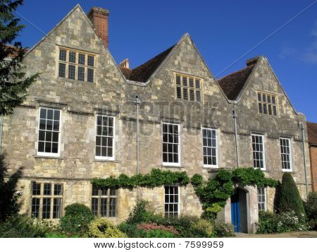 Old Tudor mansion