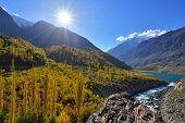 pic of karakoram  - Autumn at Ghizer Valley - JPG