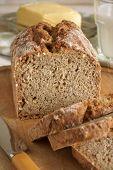 picture of irish  - Irish wheaten bread soda bread made with wholemeal flour - JPG