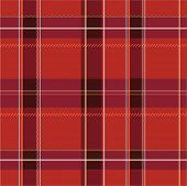 stock photo of kilt  - Illustration of a colorful plaid pattern background - JPG