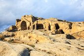 image of gory  - Rock cut city of Uplistsikhe is an ancient rock - JPG
