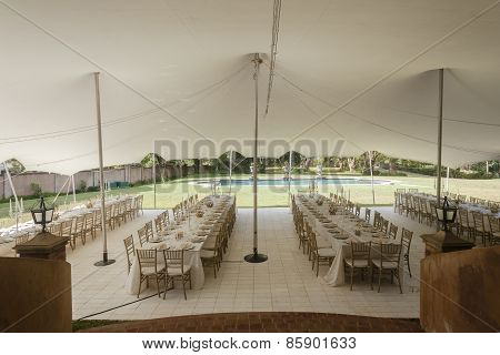 Tent Outdoors Party Decor