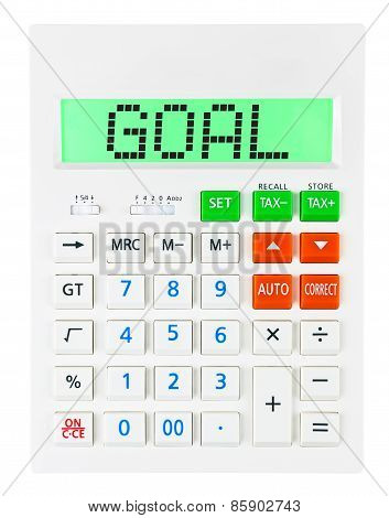 Calculator With Goal