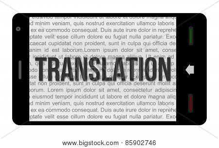 Translation Smartphone