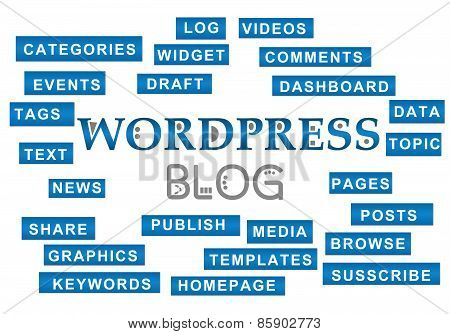 Wordpress Blog Tag Stripes