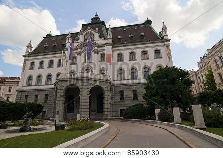 City Hall Ljubliana Slovenia