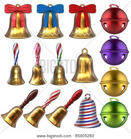 3D Bells Set
