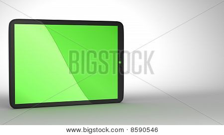 Close-up Of Slim Tablet Pc
