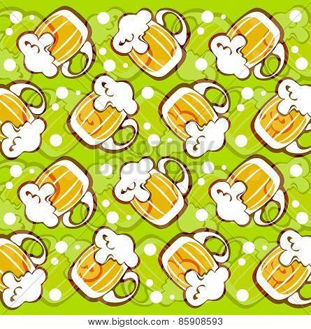 beer mugs background