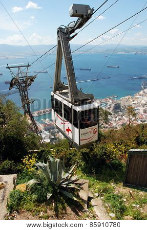 Cable car, Gibraltar.