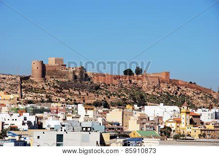 Moorish castle, Almeria.