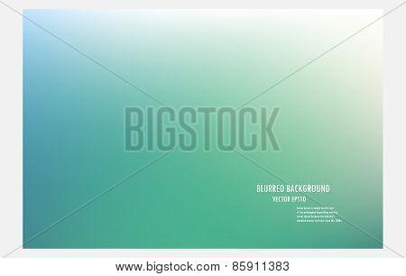 Blur Green Background.