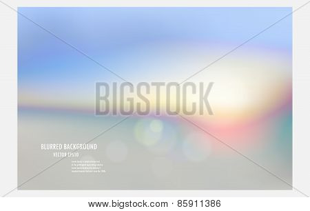Colorful Blurred Background, Vector Illustrator Desige Wallpaper,abstract Blur Backdrop.