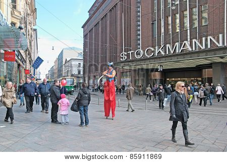 Helsinki. Finland. The Stockmann